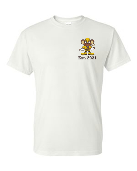 Picture of White Short Sleeve Established 2021 T-Shirt