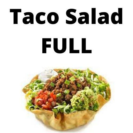 Picture of Taco Salad - Full