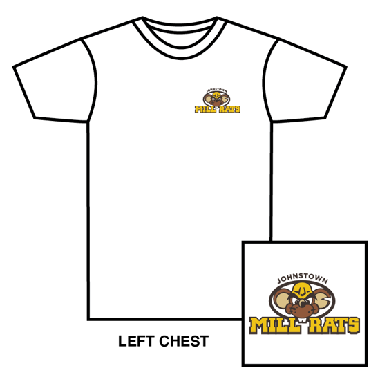 Picture of White Short Sleeve Primary Logo T-Shirt